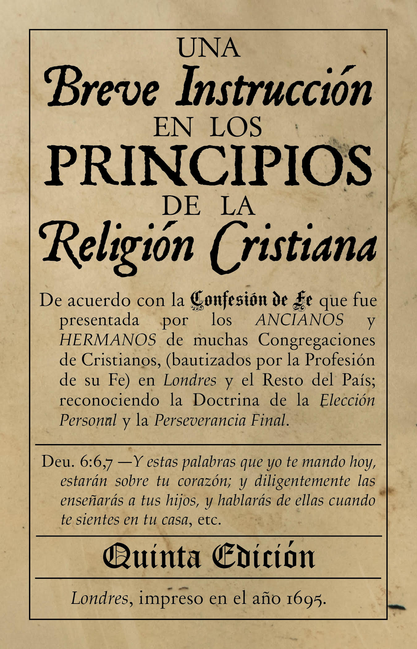 El Catecismo Bautista Legado Bautista Confesional
